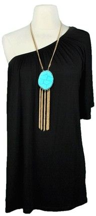 turquoise and black