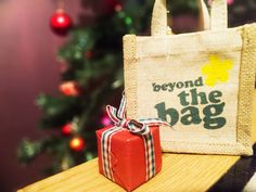 we go beyond the bag at Wedding Gift Bags, Wedding Gifts For Guests, Merry Little Christmas, Xmas, Guest Gifts, Jute Bags, Destination Wedding, Reusable Tote Bags, Yule