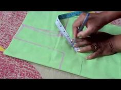 HOW TO MEASURE AND CUT SIMPLE BLOUSE(PART 1) - YouTube