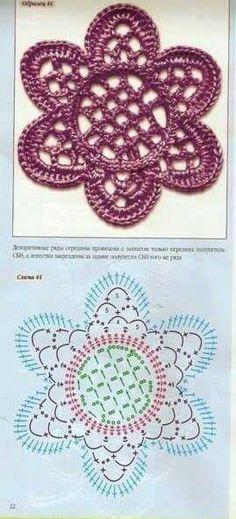 Patterns and motifs crocheted motif no 493 – Artofit Irish Crochet Tutorial, Irish Crochet Patterns, Crochet Motifs, Freeform Crochet, Crochet Diagram, Thread Crochet, Crochet Leaves, Crochet Flowers, Crochet Embellishments