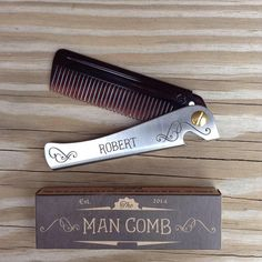 One of our awesome man combs for @mingmorgan's Grandad! ------- Get yours at www.WeAreDAFT.com ------- #malefashion #fashion #comb #foldingcomb #beard #beards #bearded #beardedman #beardedmen #beardgang #beardedvillains #beardedvillainsuk #beardedvillainsworldwide #beardsofinstagram #mensstyle #menstyle #mensfashion #beardlife #beardo #beardedmen #beardman #beardlove #moustache #mustache #instacool #instafashion Beard Love, Beard Gang, Moustache, Bearded Men, You Got This, Beards, Barber, Mens Fashion, Awesome