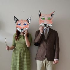 How to put together a Mr & Mrs Fox costume next halloween.
