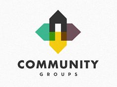 Dribbble - Community Groups by Matt Crummy Badges, Logo Branding, Branding Design, D Mark, Church Logo, Leaflet Design, Community Logo, Great Logos, Home Logo