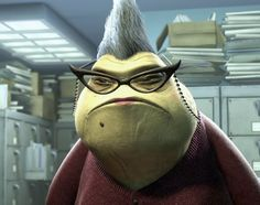 Roz from Monsters Inc.