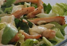 Healthy Caesar Salad, Salads, Chicken, Recipes, Food, Rezepte, Salad, Food Recipes, Chopped Salads