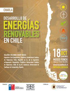 Desarrollo de Energías Renovables en Chile en Viernes de Cultura + Ciencia
