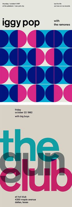 Swissted: Rock Posters by Mike Joyce