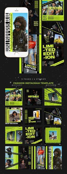 Mode Instagram, Instagram Design, Instagram Fashion, Banner Design, Layout Design, Web Design, Booth Design, Sports Graphic Design, Graphic Design Posters