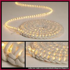 Dollar Store Crafter: DIY LED Carpet-Light