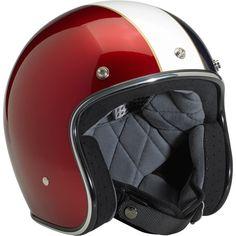 - Bonanza Helmet - LE Racer Red/White/Blue. Perfect for Rosso Chianti Vespa