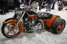 Custom Harley Trike - Picture of a Custom Willie G. Davidson ...