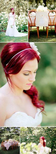 Redhead Bride <3