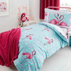 Flamingo Bed Linen Collection Dunelm Bed Linen Sets Bed Sheets Linen Sheets