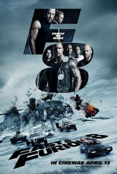 New Poster Released for Fast and Furious 8