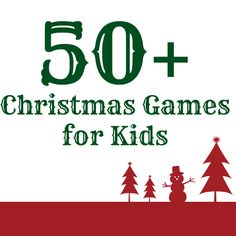 50+ Christmas Games for Kids from Octavia and Vicky