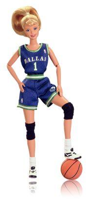 *1998 WNBA Dallas Barbie doll