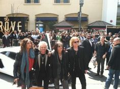 "Aerosmith has arrived with one grand entrance! Crowd going wild! Get in your RSVP to ""The Global Warming Summer Tour"" exclusive pre-sale: http://on.fb.me/AeroRSVP"