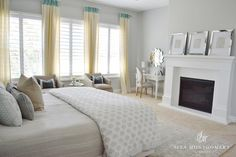 Sita Montgomery Interiors Client Project Reveal: The Rigby Project Master Bedroom