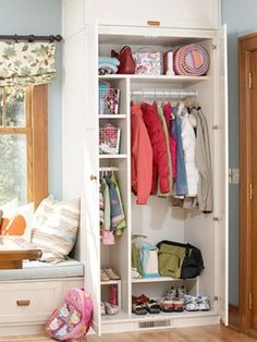 additional built in closet space by BlueDiamond