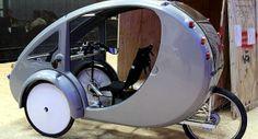 UbderGizmo: ELF: Hybrid Solar / Pedal Vehicle by Organic Transit