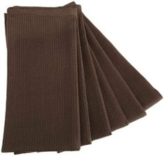 DII Waffle 18-Inch-by-28-Inch Kitchen Towel, Set of 6, Truffle Brown by DII. $20.90. 100% Cotton. Check out the other 19 colors in DII's Pure Color Kitchen Towel and Cloth Program. Designer colors for your kitchen. Set Includes 6 DII Waffle Towels, Truffle Brown. Machine Wash and Dry. Dish Cloths are 13-Inch by 13-Inch; Kitchen Towels are 18-Inch by 28-Inch. DII's Pure Color Kitchen Towel Program in Truffle Brown allows you to express your unique color preference. Set includes 6 ...