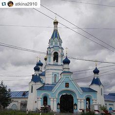 """""""#Repost @atkina2910 ・・・ Скорбященская церковь #иваново"""""""