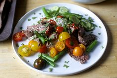 garlic-lime steak and noodle salad//smitten kitchen Whole 30 Recipes, Real Food Recipes, Cooking Recipes, Yummy Food, Yummy Yummy, Delish, Beef Dishes, Tasty Dishes, Steak Salad