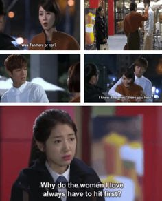 "Shinhye , Lee Min ho and his mom ♡ #Kdrama - ""HEIRS"" / ""THE INHERITORS"""