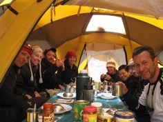 Tusker Trails - Friends and food on Kili