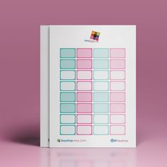 Half Boxes - May Theme Printable Stickers // Perfect for Erin Condren Vertical Life Planner by FasyShop on Etsy
