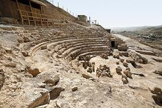 Finding King Herod's Tomb    King Herod and his honored guests sat in a royal box at this theater that accommodated some 450 spectators.