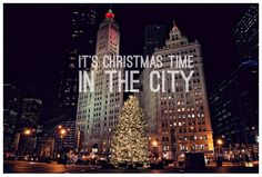 chicago christmas thank you cards Christmas Thank You, Merry Christmas Eve, Christmas Time, St Nicholas School, Saint Nicholas, Chicago Christmas, One Day I Will, City Life, Empire State Building