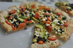 I've been on an avocado kick lately. Putting them in salsas, burritos, salads, whatever. So when I went to use the rest of my Whole Wheat Pizza Dough I though what the hell, let's put s...
