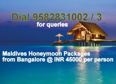 Book Maldives Honeymoon Packages From Bangalore Package All Inclusive