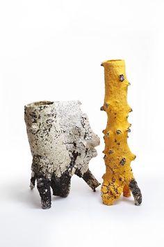 Aneta Regel Deleu; Glazed Ceramic Vessels, 2014.