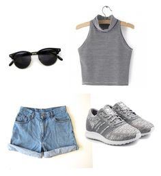 A fashion look from May 2016 featuring sleeveless shirts, levi shorts and grey shoes. Browse and shop related looks. Levi Shorts, Grey Shoes, Sleeveless Shirt, Adidas Originals, Summer Outfits, Fashion Looks, Polyvore, Shirts, Shopping