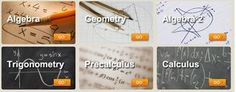 FREE math videos covering every topic in Algebra, Geometry, Algebra 2, Trigonometry, Precalculus and Calculus. Also, free math homework checker.