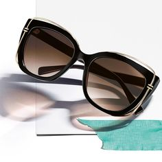 """1ce871407505a Tiffany   Co. on Instagram  """"Made in the shade. Bold new  TiffanyT cat eye  sunglasses"""