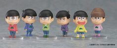 Tvアニメ『おそ松さん』より「おそ松さん トレーディングフィギュア」おなじみのパーカー姿と表情に注目