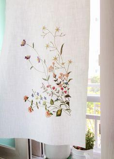 토츠카 사다코의 사계절 야생화 자수 중에서 맘에 드는 도안을 완성하기까지 두 달 넘게 잡고 있었습니다. ...