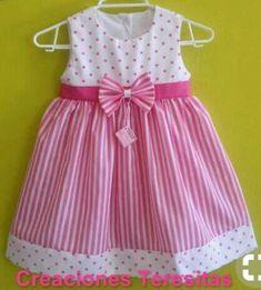 Baby Dress Design, Baby Girl Dress Patterns, Toddler Dress, Toddler Outfits, Kids Outfits, Baby Frocks Designs, Kids Frocks Design, Cute Little Girls Outfits, Little Girl Dresses