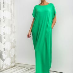 New SS16 lovely colors on our timeless model --- the beautiful and comfy caftan dress! Enjoy,  ladies!