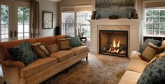 fireplace designs | Add a Mendota FullView Modern fireplace to bring sleek warmth to spare ...