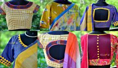 We are now undertaking hand work and stitching for saree blouses. Kindly private message us or email us to teamyellow@yellowkurti.com for placing orders . 13 July 2016