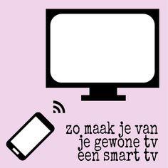 Zo maak je van je gewone tv een smart tv, bijvoorbeeld om YouTube te kijken, met een Chromecast #leukmetkids