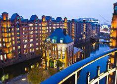 Speicherstadt Hamburg von oben