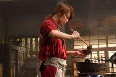 a Hitokiri who can cook! <3   #Kenshin Himura