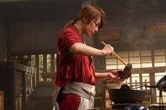 a Hitokiri who can cook! <3   #Kenshin Himura