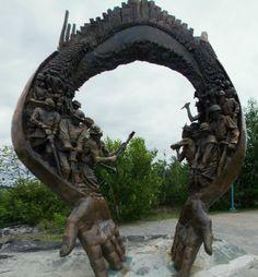 Many miner's lives lost in the Nickel Capital of the world. Canada North, Canada Eh, Visit Canada, Ontario Camping, Ontario Travel, Sudbury Canada, Niagara Falls Toronto, Greater Sudbury, Manitoulin Island