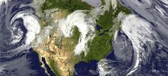 Triple upper level storm systems courtesy +Kevin Selle and +Kristian Claus